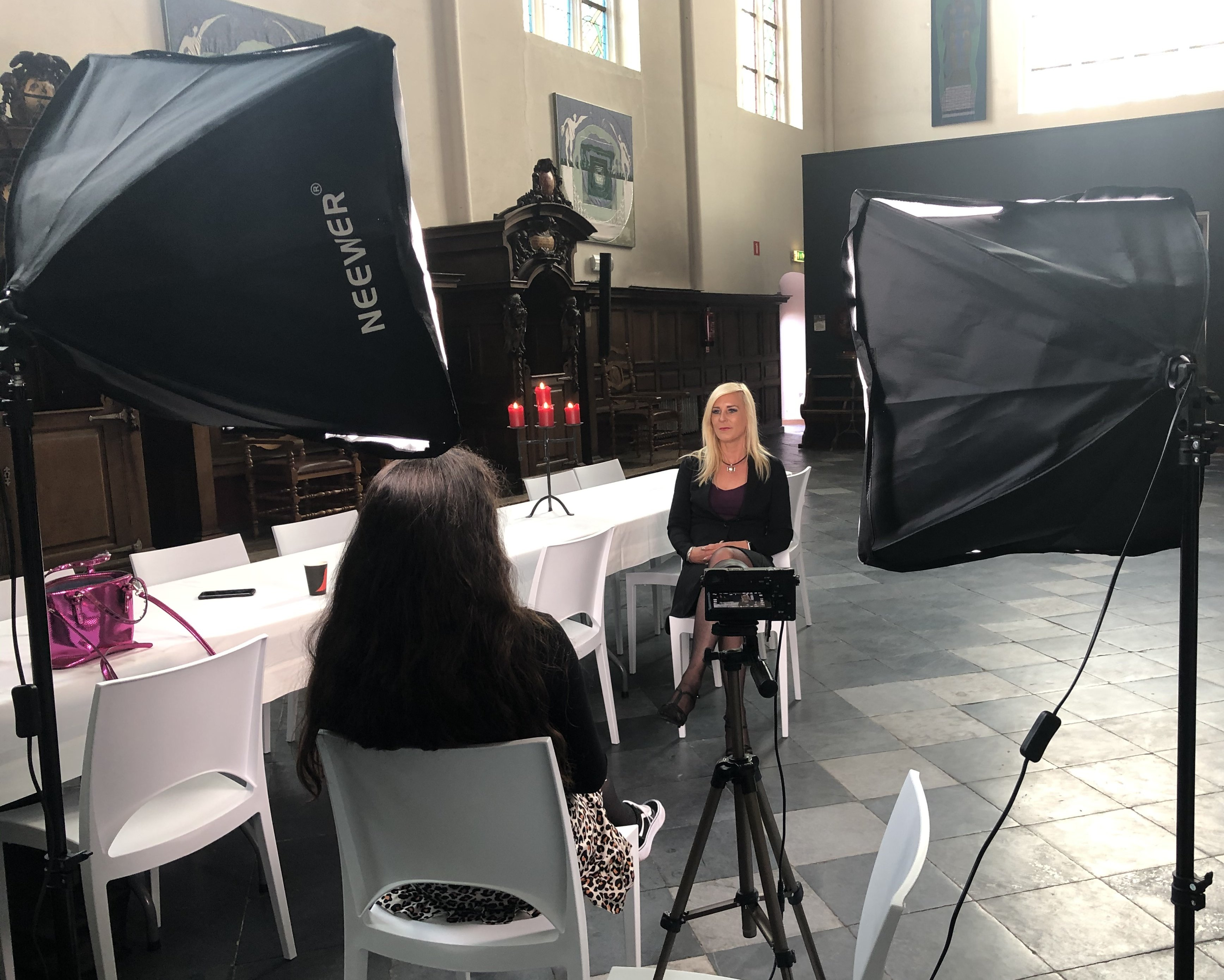 Promo film interview